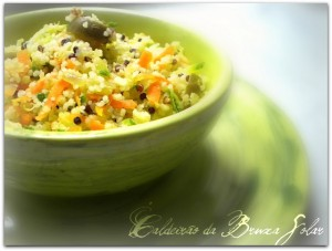 Cuscuz com quinoa
